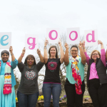 Members of the Ford Warriors in Pink 2016 Models of Courage program celebrate their dedication to helping create #MoreGoodDays for those fighting breast cancer in their community. (Photo: Business Wire)
