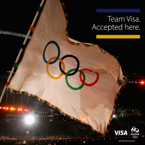 Visa is thrilled to welcome refugee Olympic athletes to the #TeamVisa community of 60 Olympic athletes. #Rio2016 (Photo: Business Wire)