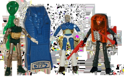 The MICRONAUTS CLASSIC COLLECTION Set is a vintage homage to the classic science fiction action figures originally sold between 1976 and 1980. Veteran paint artist Ken Kelly, who created some of the most memorable packaging art for the original MICRONAUTS toys, designed the bold artwork for this set. (Photo: Business Wire)