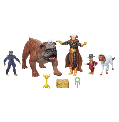 The most extraordinary museum of intergalactic treasures is inside THE COLLECTOR'S VAULT! This impressive 3.75-inch scale MARVEL LEGENDS SERIES set features fan-favorite Marvel Comics characters and mysterious ancient artifacts, such as ZODIAC KEY, CASKET OF ANCIENT WINTERS, and WAND OF WATOOMB. (Photo: Business Wire)
