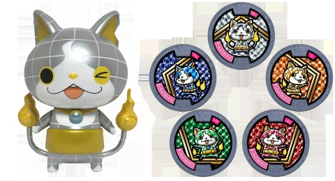 DIANYAN is shining bright in the new and exclusive JEWELNYAN Assortment. The assortment includes one vinyl DIANYAN figure and 5 exclusive Jewelnyan Yo-kai Medals. (Photo: Business Wire)