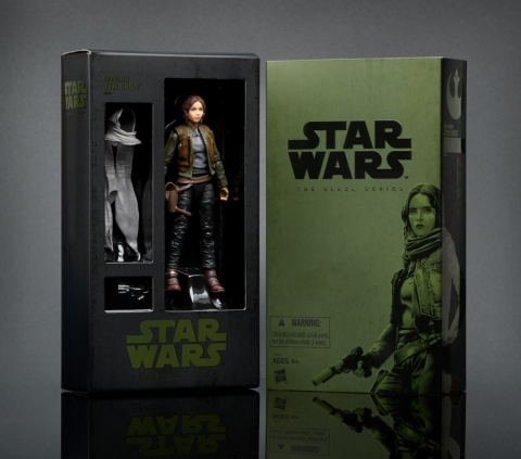 Bring the action of the highly anticipated Rogue One: A Star Wars Story film to life with THE BLACK SERIES Jyn Erso Pack! A highly skilled soldier in the Rebel Alliance, Jyn Erso is an impetuous, defiant warrior eager to bring the battle to the Empire. This impressive 6-inch scale figure features extensive articulation and realistic character design. (Photo: Business Wire)