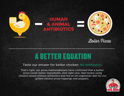 Taste our answer for better chicken: No antibiotics (Graphic: Business Wire)