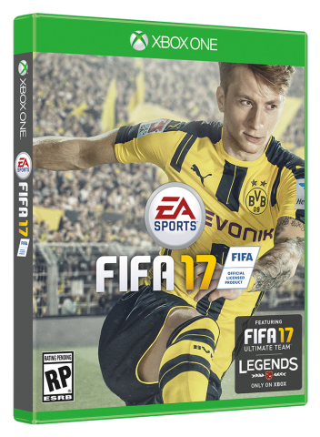 Borussia Dortmund's Marco Reus Revealed as Global Cover Athlete for EA SPORTS FIFA 17 (Photo: Busine ...