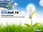 New EnerSoft TS Roll Cover Technology for Tissue and Toweling Machines provides Enhanced Machine Performance with Reduced Energy Consumption (Graphic: Business Wire)
