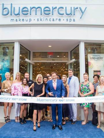 Marla and Barry Beck, Founders of Bluemercury, open 100th store (Photo: Business Wire)