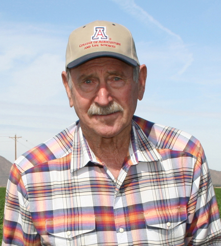 """Often referred to as the """"father of subsurface drip irrigation"""" in America, Arizona grower Howard Wuertz received the 2016 Netafim Award for Advancement in Microirrigation at the ASABE's Annual awards ceremony. (Photo: Business Wire)"""