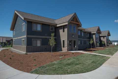 Community leaders, investment partners and new residents celebrated the completion of The Springs II in McCall, bringing 36 new homes to the region, helping address a need for more affordable housing (Photo: Joshua Roper).