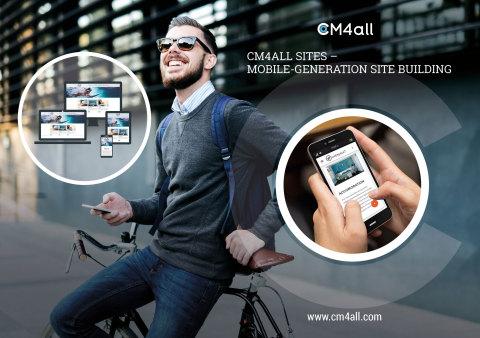 CM4ALL SITES – DIE MOBILE GENERATION WEBBAUKASTEN (Foto: Business Wire)