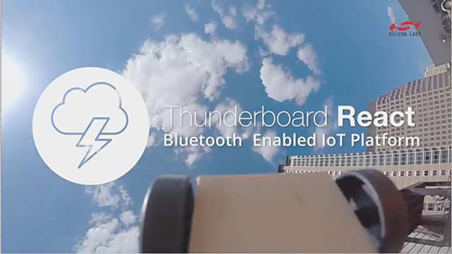 Race ahead in adding sensor-to-cloud connectivity to your IoT product with Silicon Labs' Thunderboard React kit.