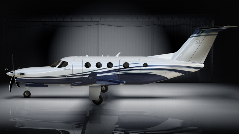 The Cessna Denali's flat floor cabin is designed to be the largest in its segment and will offer the ...
