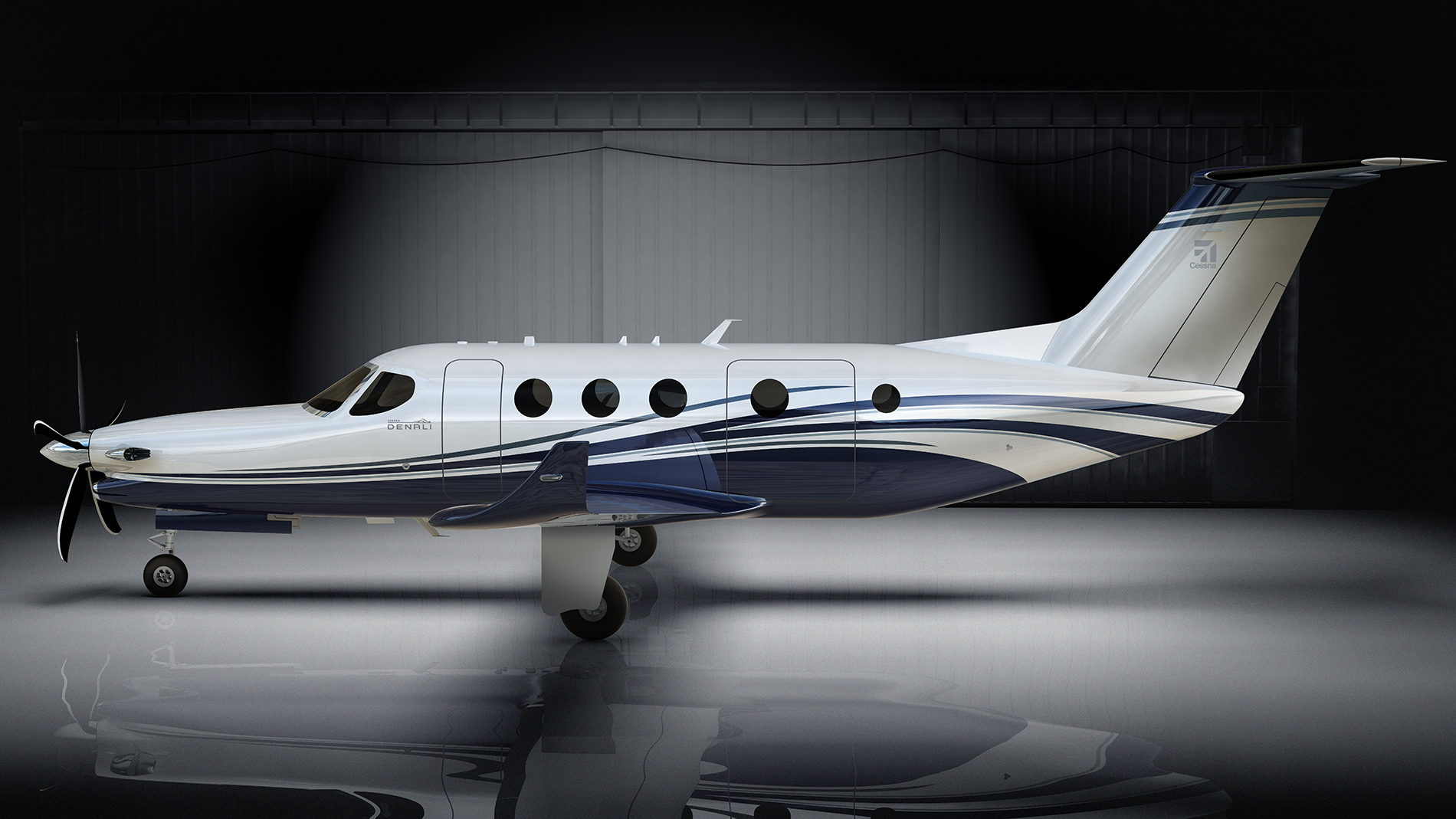 Textron Aviation Debuts Cessna Denali Single Engine Turboprop at ...