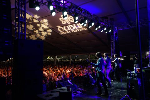 Dublin, Ohio USA plays host to the largest three-day Irish Festival on the planet, Aug. 5, 6, & 7. Visit www.dublinirishfestival.org for more information. (Photo: Business Wire)