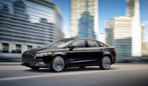 Ford Fusion electrified vehicle retail sales spiked in the Los Angeles market during the month of Ju ...