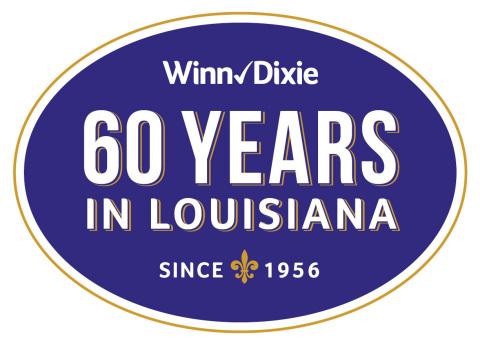 Winn-Dixie Celebrates 60 Years of Serving Louisiana.