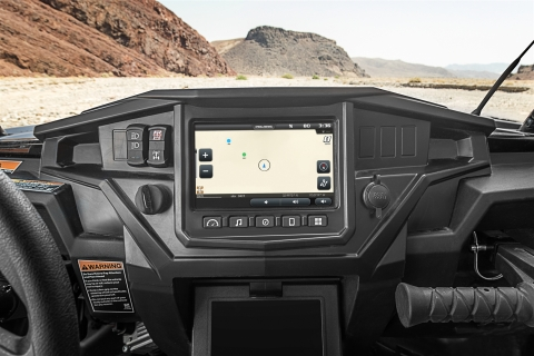Polaris today unveiled RIDE COMMAND, a new concept designed to revolutionize the off-road experience. (Photo: Business Wire)