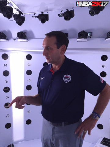 2K today announced a partnership with USA Basketball that will bring the full roster of the 2016 USA Basketball Men's National Team, including Coach Mike Krzyzewski, to NBA 2K17, the next iteration of the top-rated and top-selling NBA video game simulation series. (Photo: Business Wire)