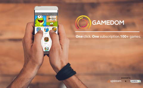 Upstream launches GAMEDOM browser based subscription gaming portal.  More info: http://goo.gl/JJRlsf  (Photo: Business Wire)