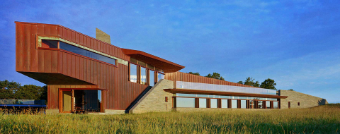 Architect: Kohn Pedersen Fox Associates / Builder: Wright & Co. Construction Inc. (Photo: Reilly Windows & Doors)