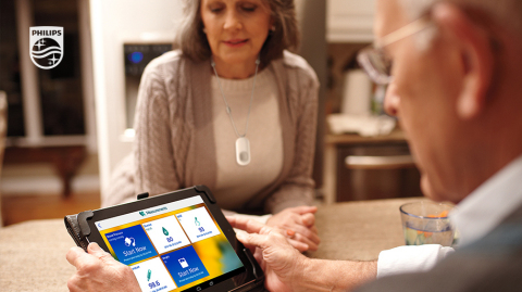 Philips Telehealth Technology Improves Access to Care for Patients in the Home. (Photo: Business Wire)
