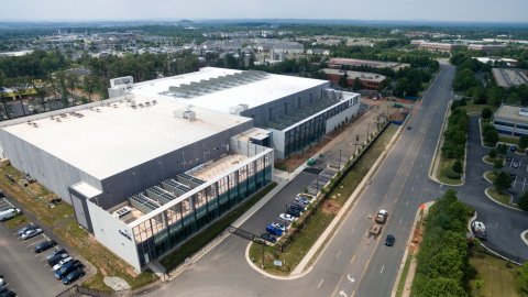 CyrusOne's Sterling II data center facility which was constructed in just six months (Photo: Business Wire)