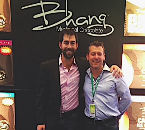 "After winning a partial victory and independence from Mentor Capital, executives of Bhang (Scott Van Rixel, CEO, left, and Richard Sellers, COO), report renewed focus. ""We are happy to finally be free to roll out our medical cannabis products to new markets, plus launch some exciting new products,"" said Van Rixel. (Photo: Business Wire)"