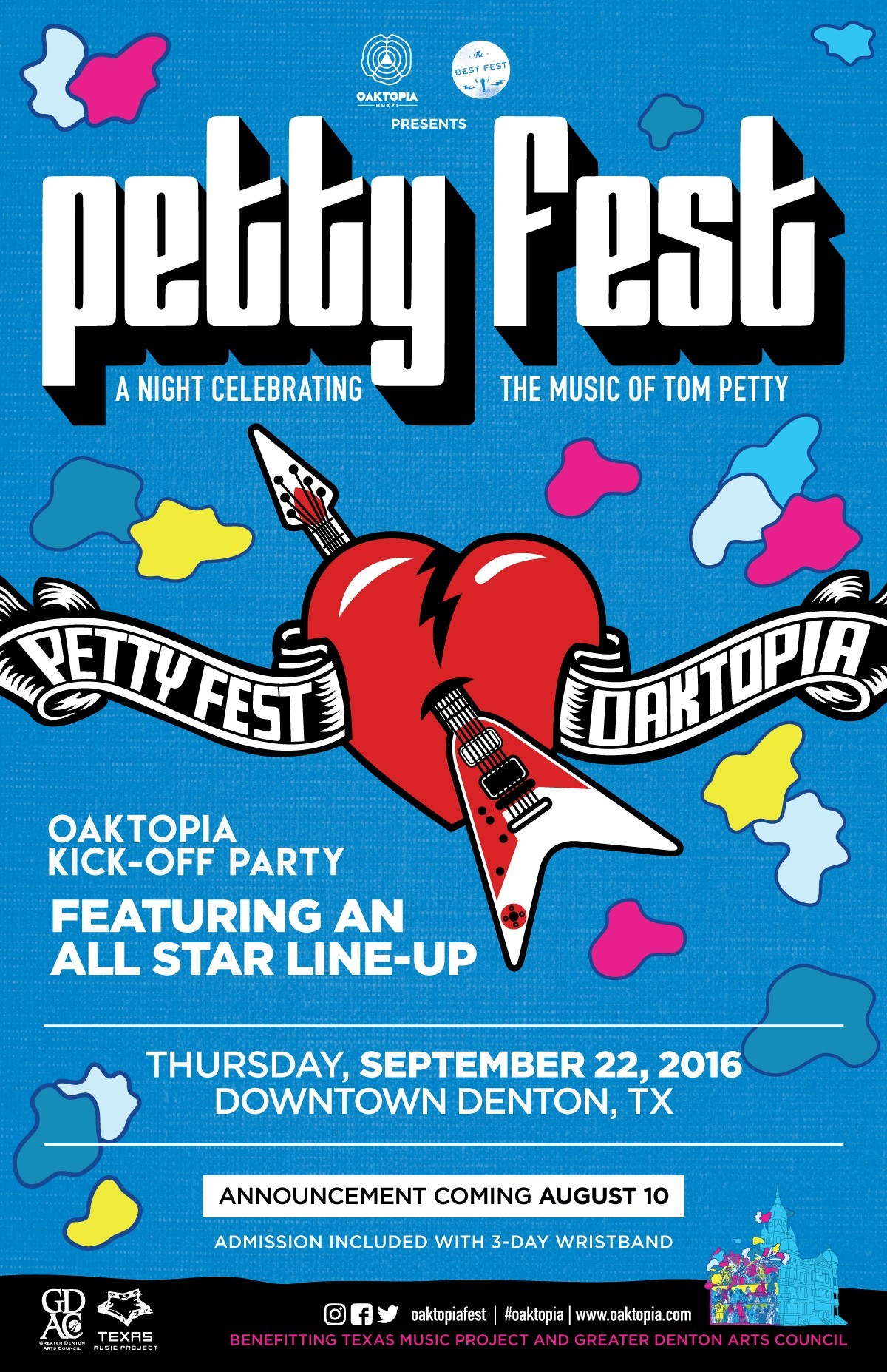Petty Fest to Kick Off Oaktopia Festival With Opening Night ...