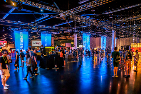 SIGGRAPH 2016 Experience Hall, Image by Jim Hagarty