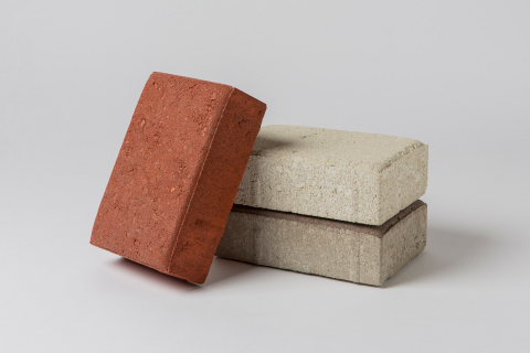 Solidia Concrete™ CO₂-cured pavers (Photo: Business Wire)