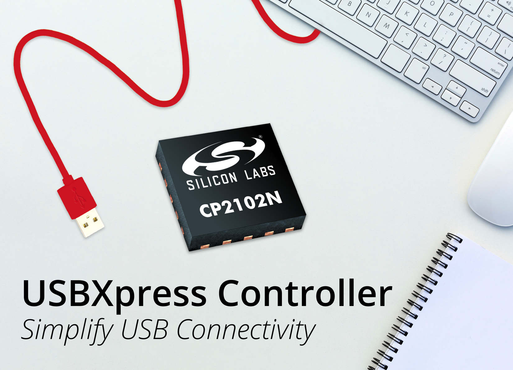 New USBXpress Controller from Silicon Labs Simplifies USB