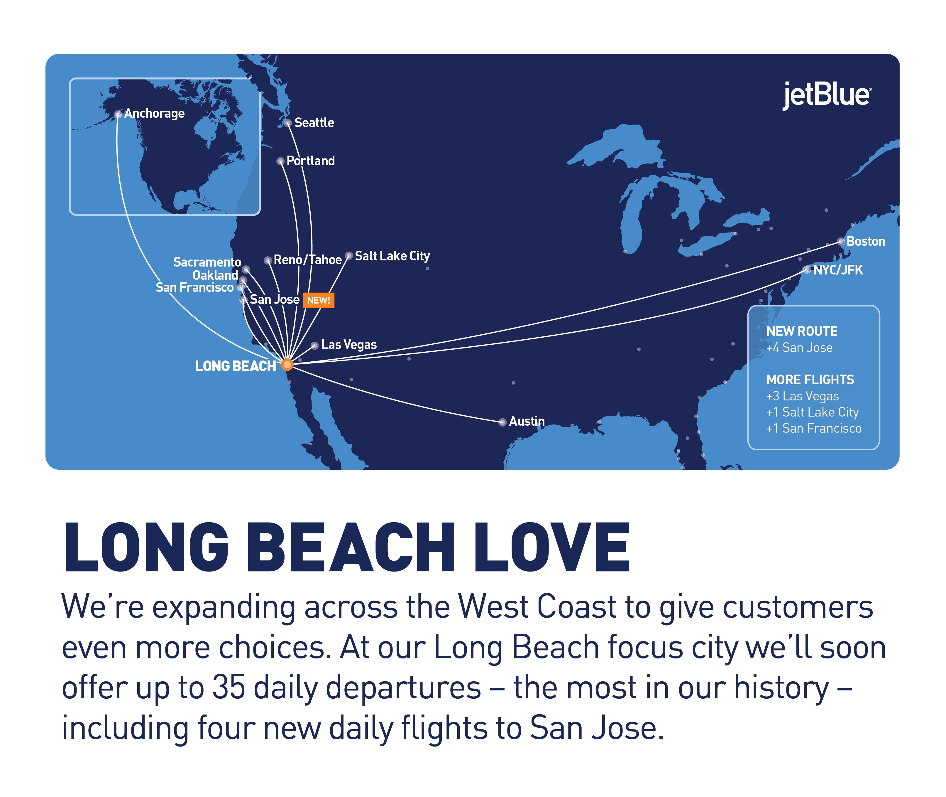Jetblues West Coast Expansion Continues With Long Beach Growth