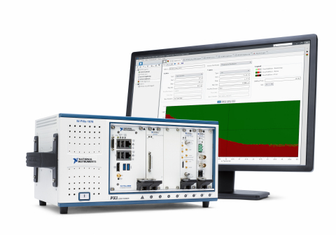 The NI digital pattern instrument is a software-centric instrument used by semiconductor characteriz ...