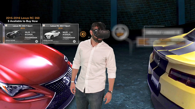 Vroom's Virtual Reality Showroom, a groundbreaking immersive experience in online car buying.