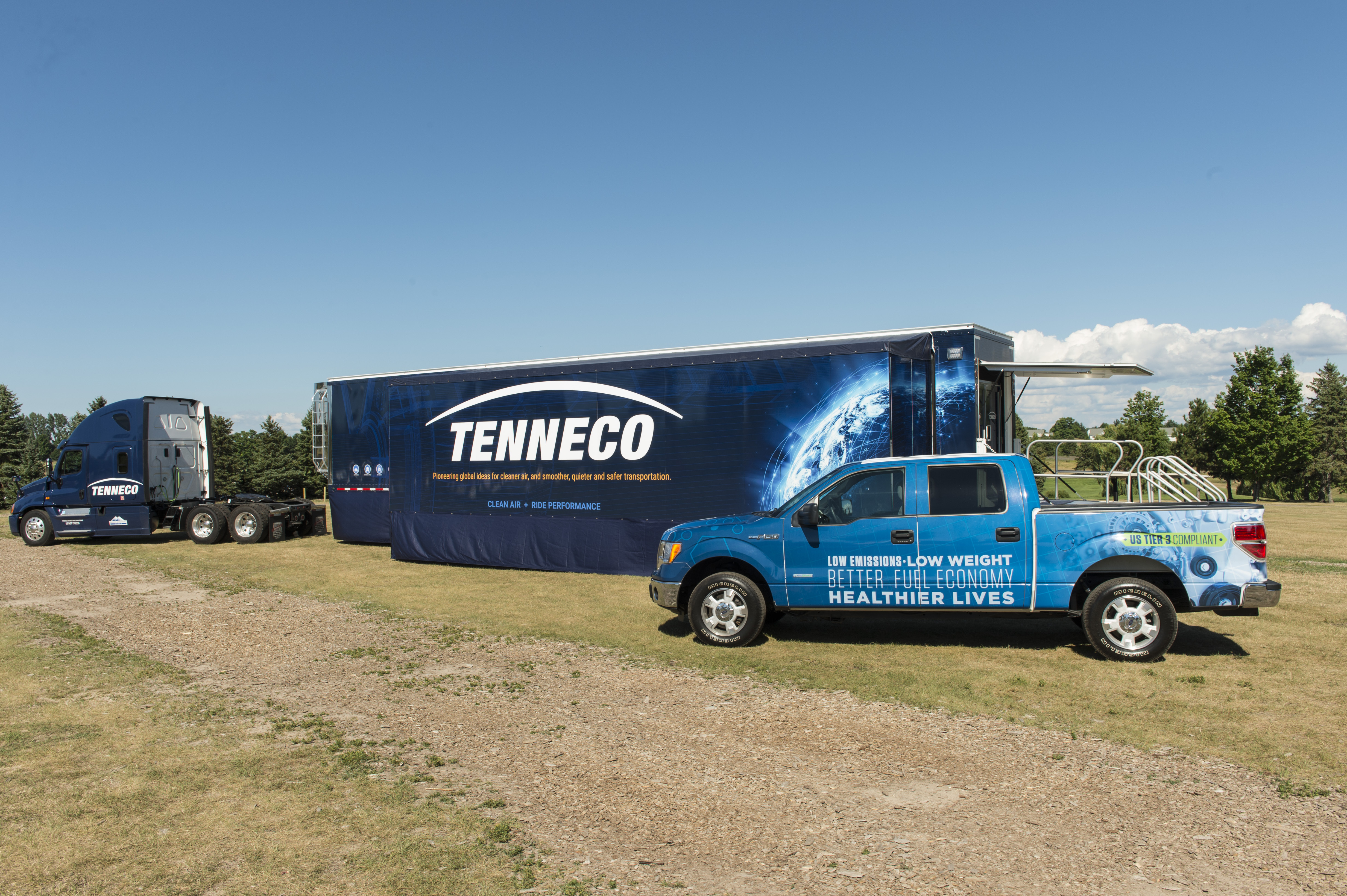 Tenneco Showcases Global Clean Air Solutions At Car Management