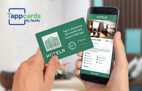 Tactify Announces the Launch of Tappcards (Photo: Business Wire)