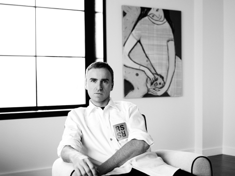 Raf Simons Announced as Chief Creative Officer of Calvin Klein
