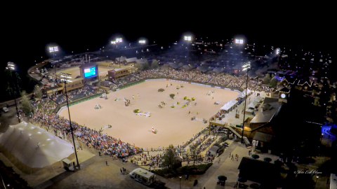 Tryon International Equestrian Center in North Carolina is pursuing a bid to host the 2018 FEI World Equestrian Games (WEG), which could have an economic impact of more than $200 million to both North and South Carolina. (Photo: Erik Olsen Pictures)