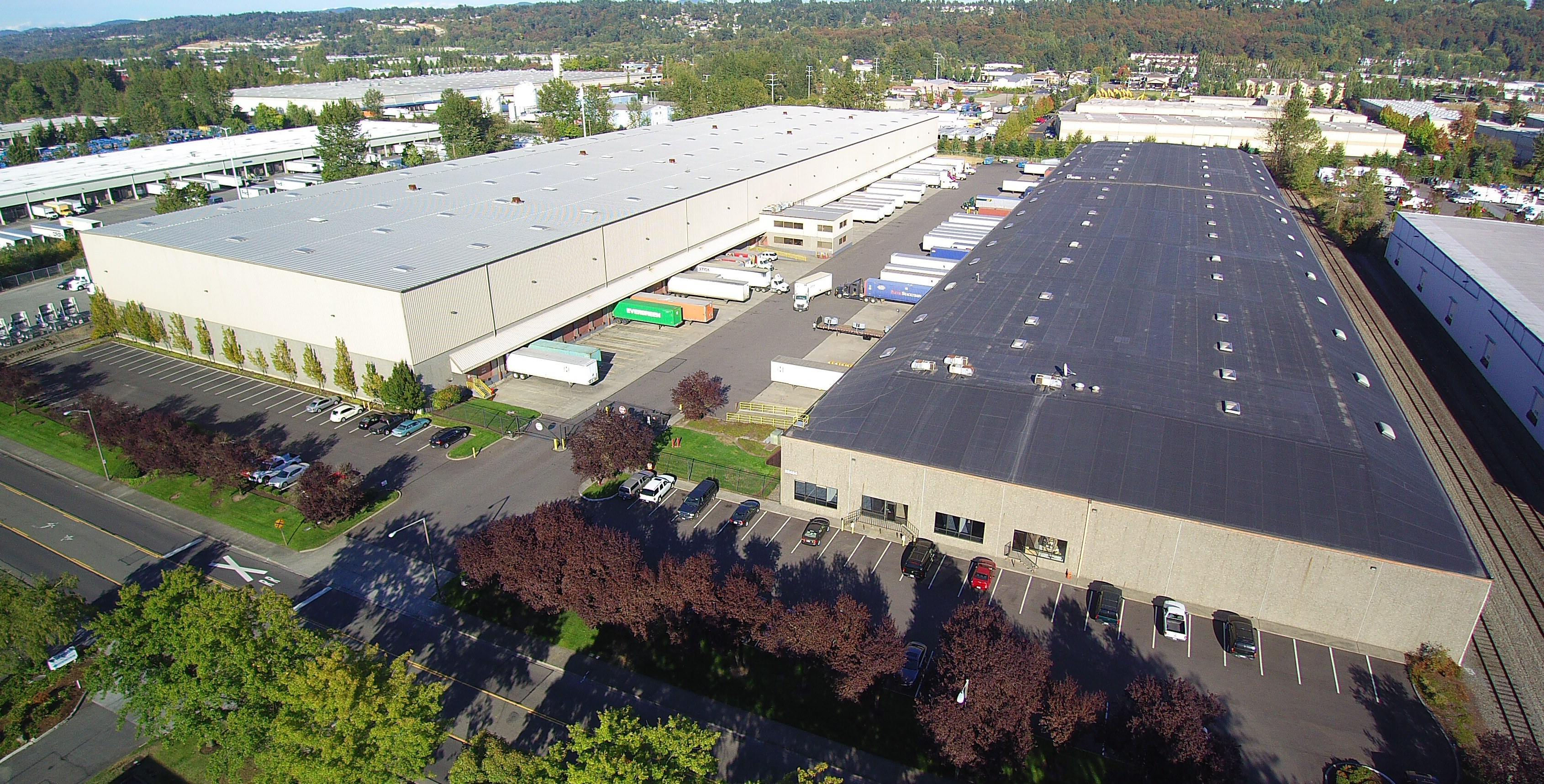 Aerial view of Holman Distribution's Headquarters in Kent, WA (Photo: Business Wire)