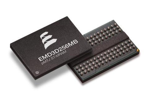 Everspin's new 256Mb pMTJ spin-torque MRAM is the highest density commercially available perpendicul ...