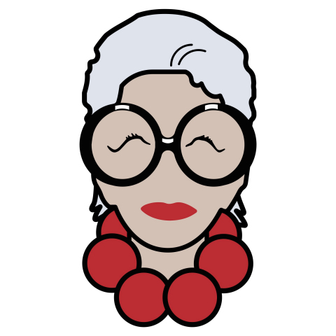 """I.N.C International Concepts, exclusively at Macy's, revealed its fall 2016 campaign, """"Iris meets I.N.C"""" with imagery and a corresponding emoji keyboard inspired by fashion icon Iris Apfel. (Graphic: Business Wire)"""