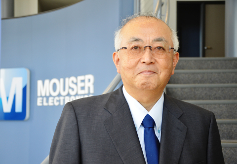 Industry executive Sam Katsuta has joined Mouser Electronics as Vice President of the global distributor's Japan business operation. (Photo: Business Wire)