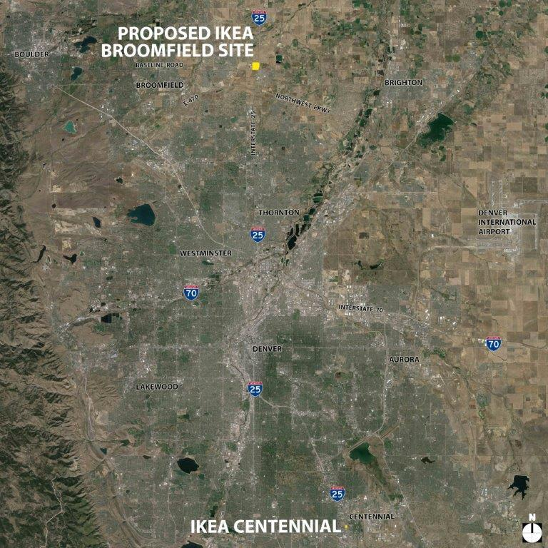 Planning for the Future, IKEA Looks Northward to Broomfield ...