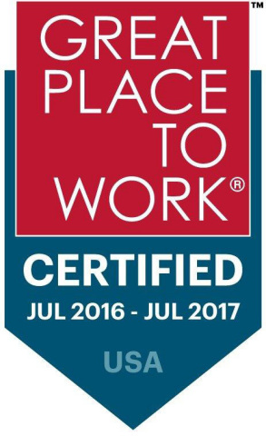 The Company Making Employee Health and Benefits 'People-Friendly' is now a Certified Great Place to Work® (Graphic: Business Wire)