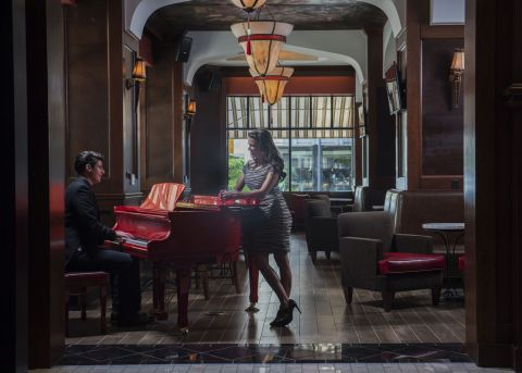 Renovations completed in Red Piano Lounge (Photo: Business Wire)