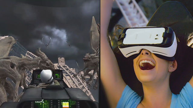 Rage of the Gargoyles is an exciting and innovative fully-interactive virtual reality coaster experience.