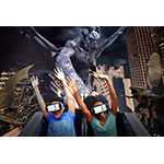 Six Flags and Samsung Announce World's First Fully Interactive Roller Coaster Gaming Experience - Rage of the Gargoyles (Photo: Business Wire)