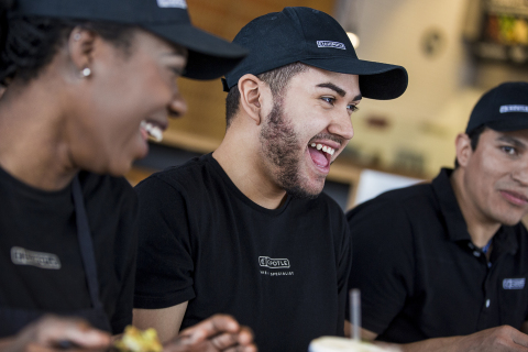 Chipotle employees can now pay as little as $250 per year to earn college credits or complete a degree. (Photo: Business Wire)