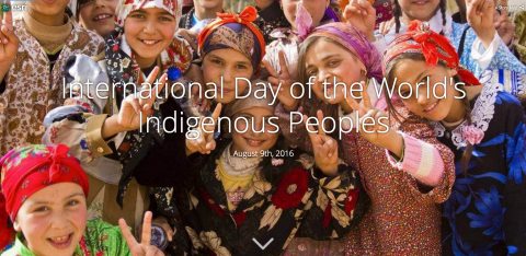 The United Nations' International Day of the World's Indigenous People is observed each year to promote and protect the rights of the world's indigenous population. This year's theme is right to education, and in honor of this, Esri partnered with seven tribes in a friendly competition to create Story Maps using the ArcGIS platform. (Photo: Business Wire)