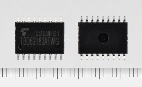 "Toshiba: a new transistor array ""TBD62183AFWG"" with output rating of 50V and 8ch sink output (Photo: Business Wire)"