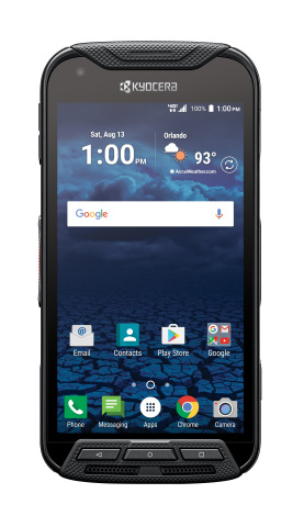 The Kyocera DuraForce PRO ruggedized smartphone (Photo: Business Wire)